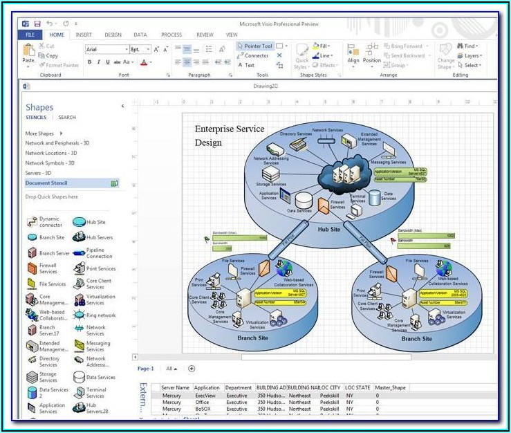 Visio Value Stream Map Template
