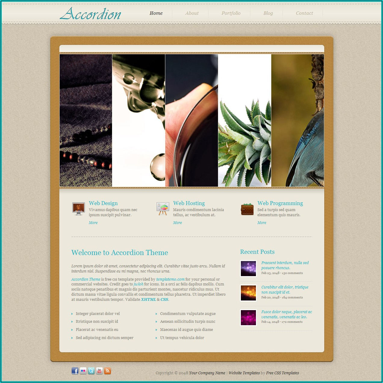 Website Templates Jquery Slider And Css