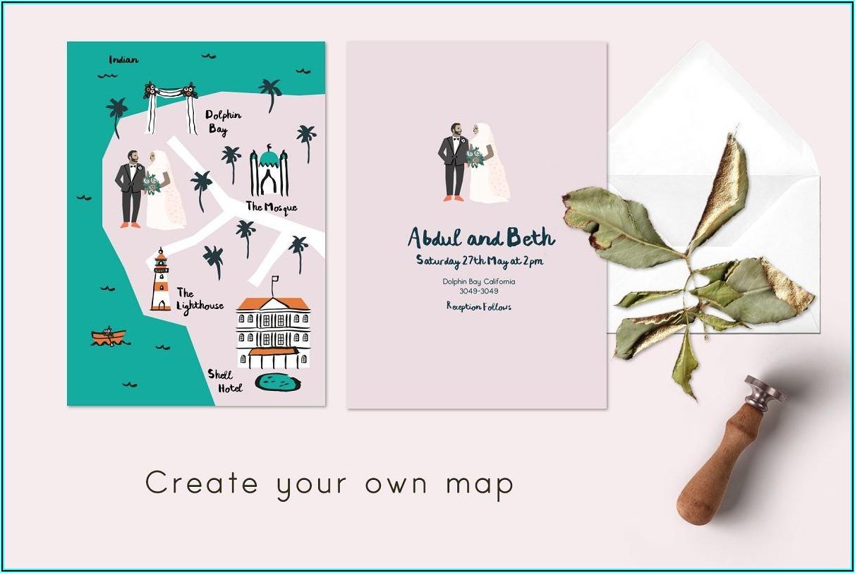 Wedding Invite Map Creator