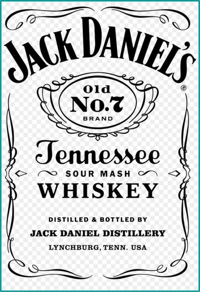 Whiskey Label Invitation Template