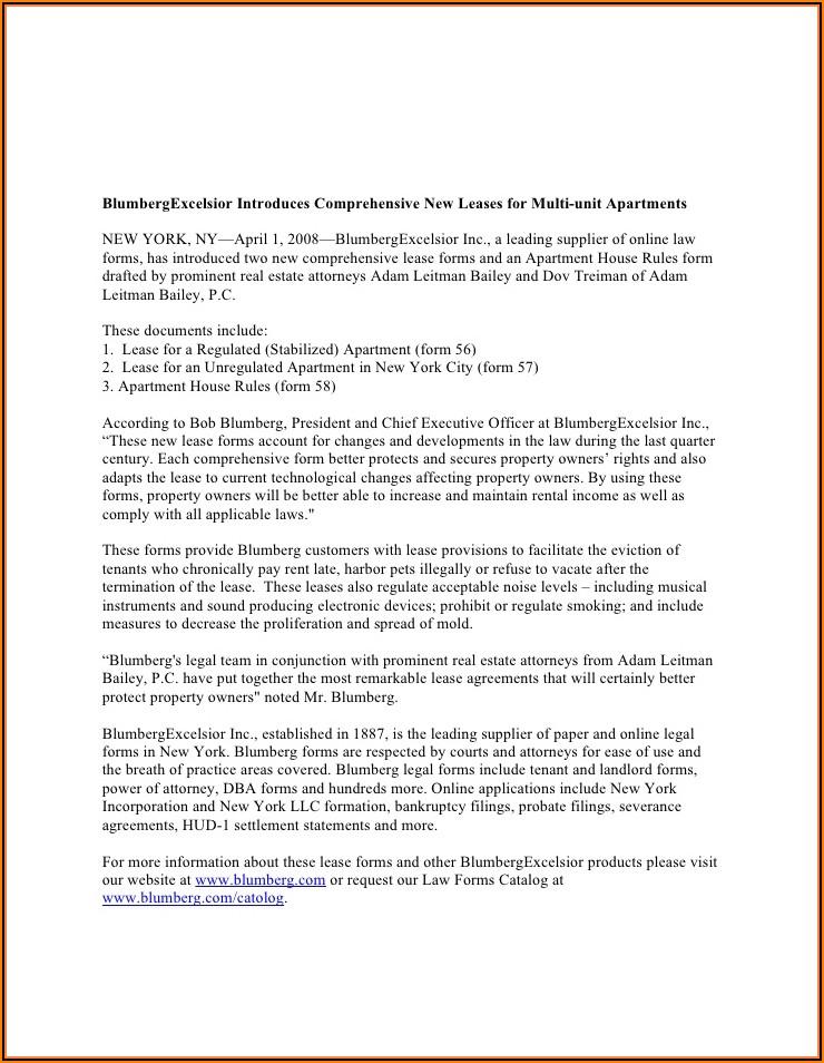 Blumberg Legal Forms Download