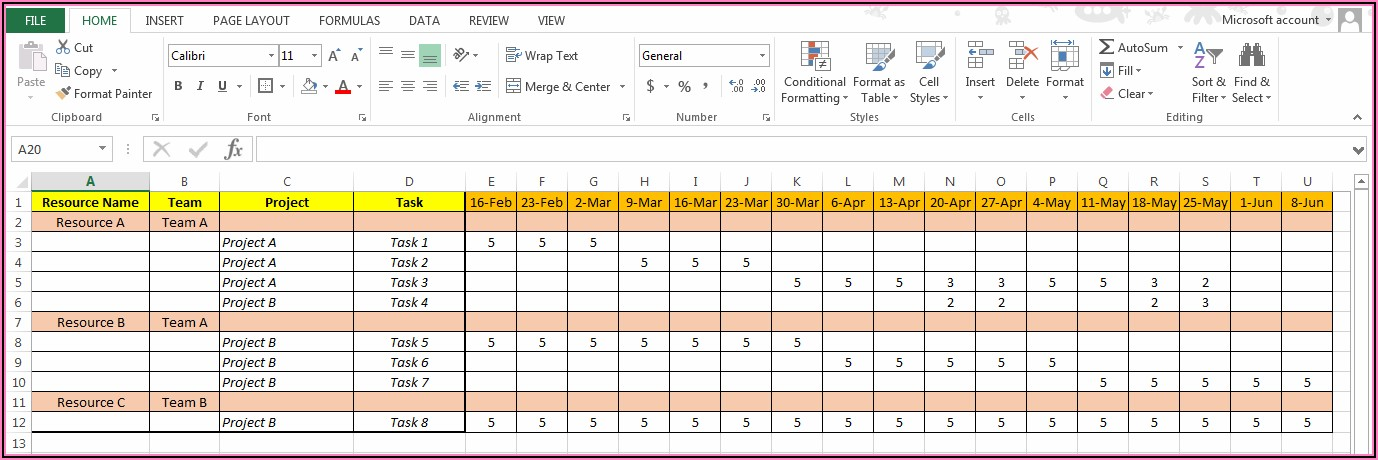 Budget Planning Template Free Download