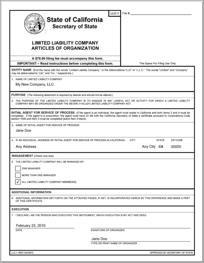 California Fictitious Business Name Renewal Form