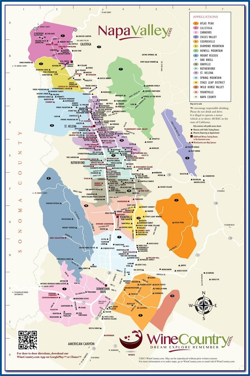 California Wine Appellation Map