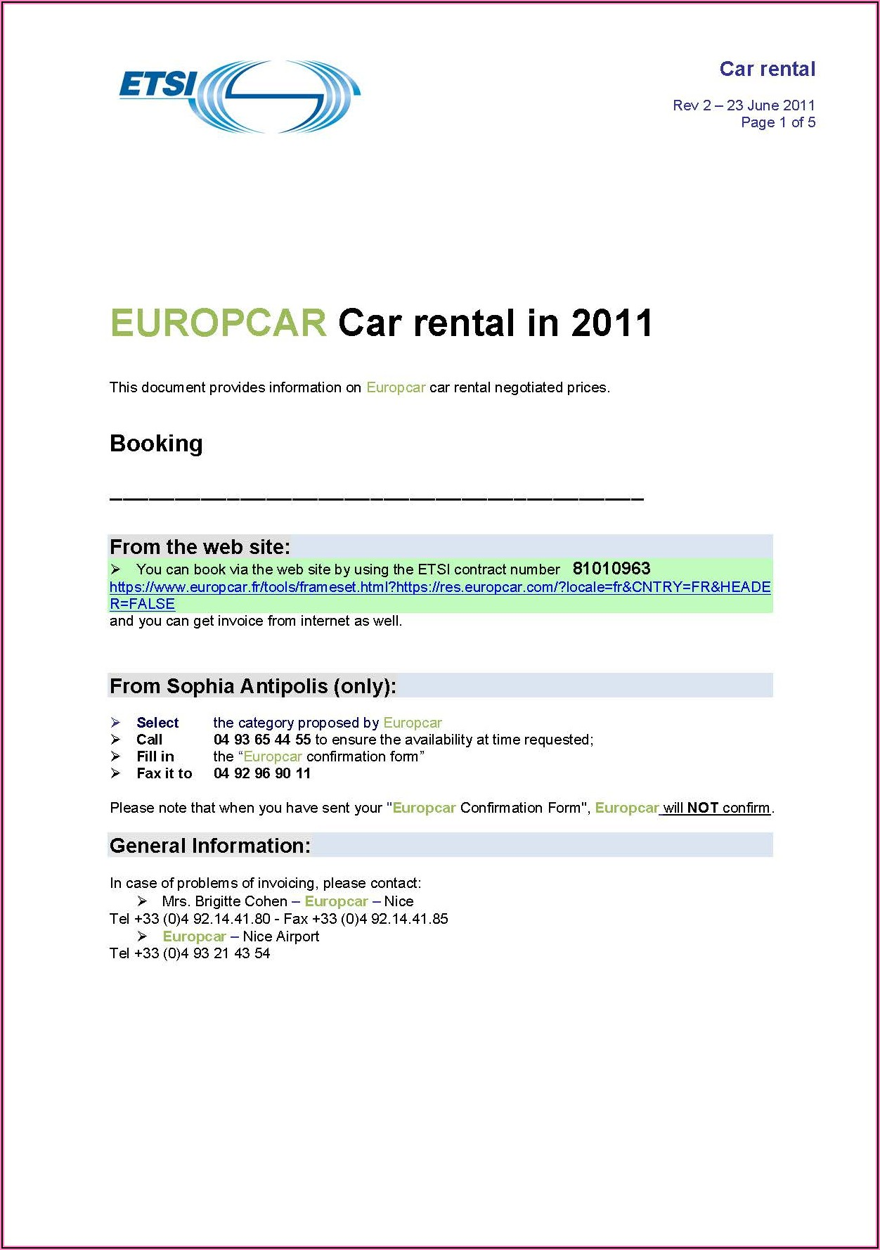 Car Rental Application Form Pdf