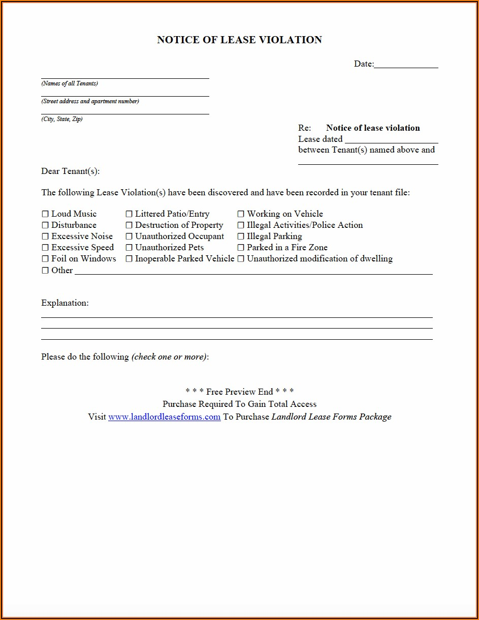 Commercial Real Estate Lease Proposal Form