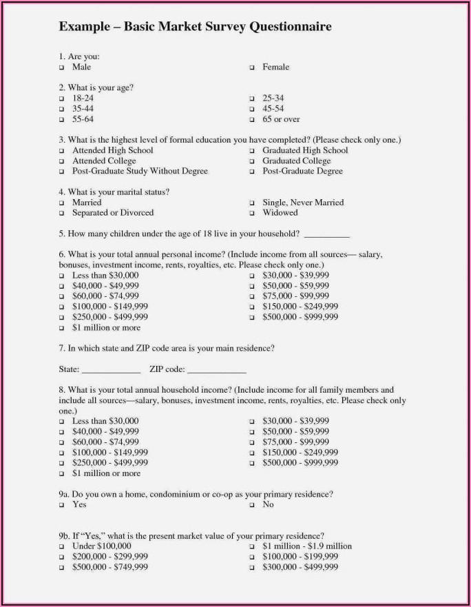 Free Customer Satisfaction Survey Form Template