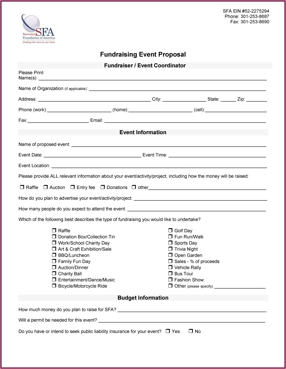 Free Download Template Proposal Event