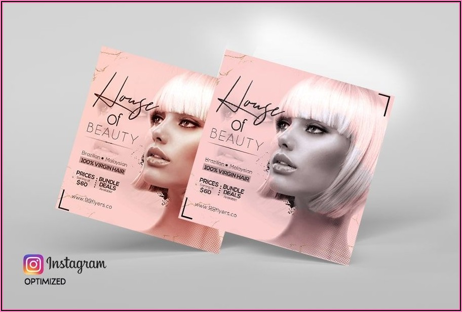 Free Hair Salon Flyer Templates Psd