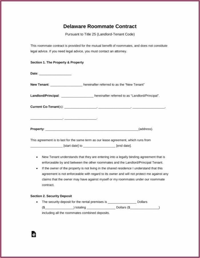 Free Landlord Rental Agreement Template
