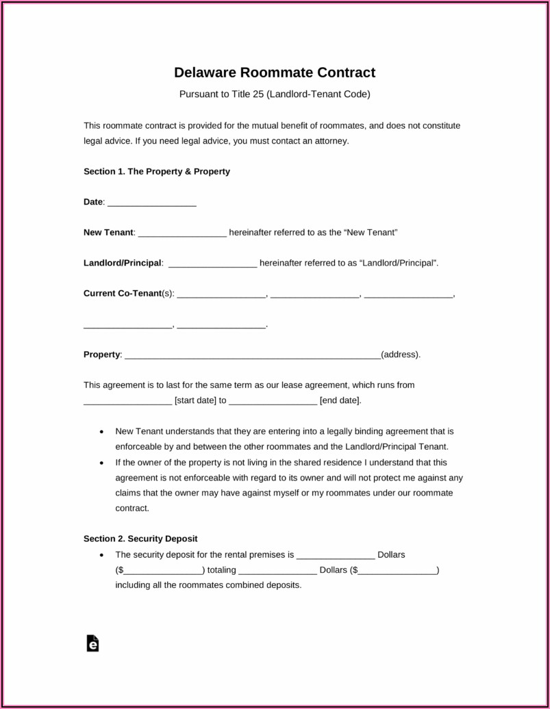 Free Landlord Rental Agreement Template