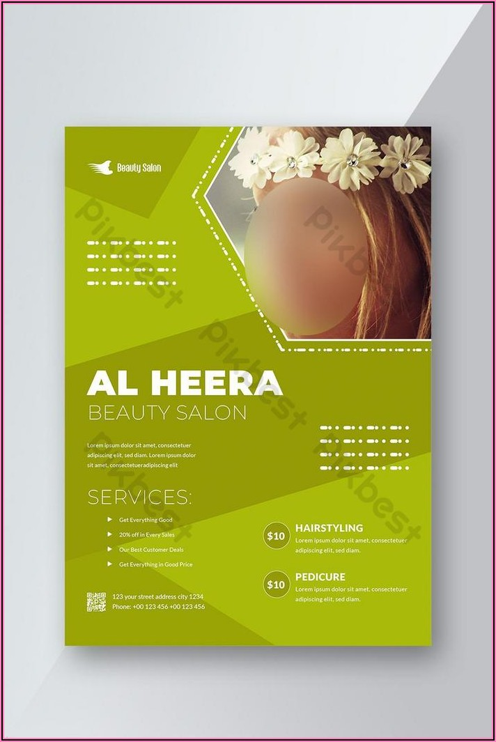 Free Salon Flyer Templates