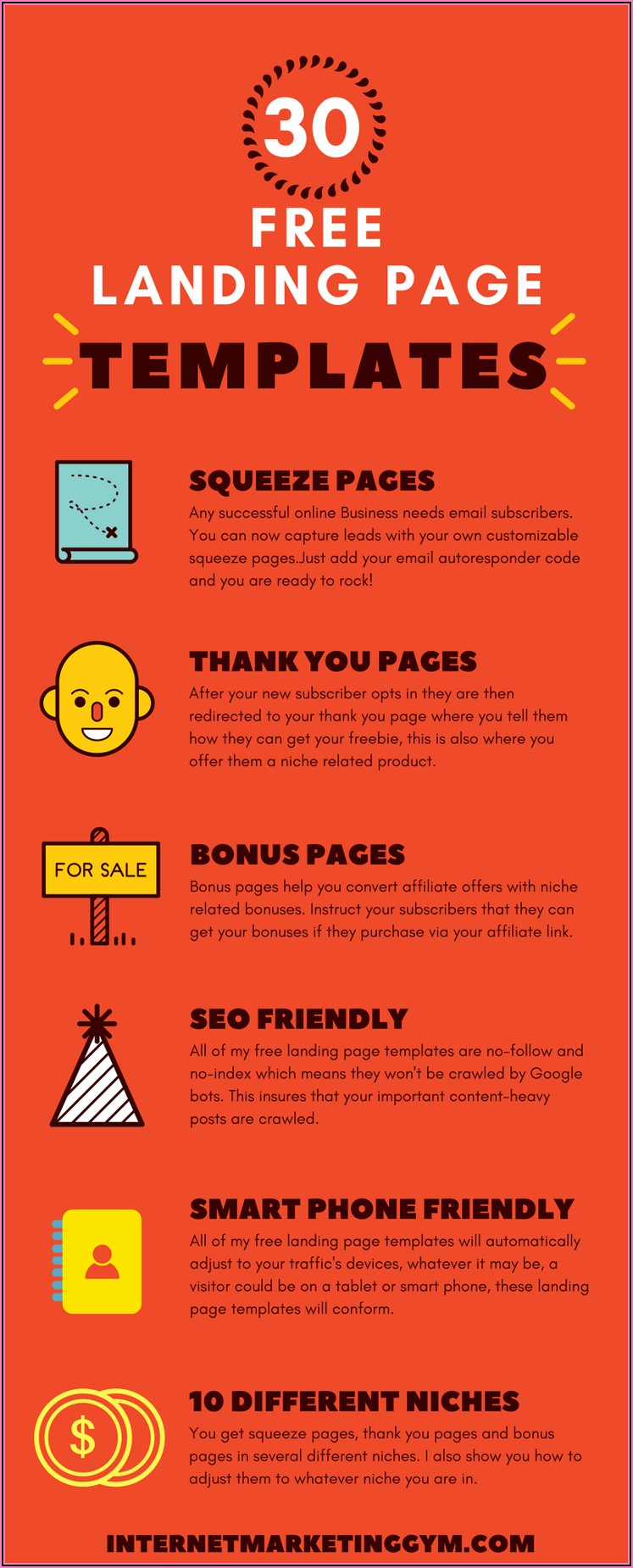 Free Squeeze Page Templates Download