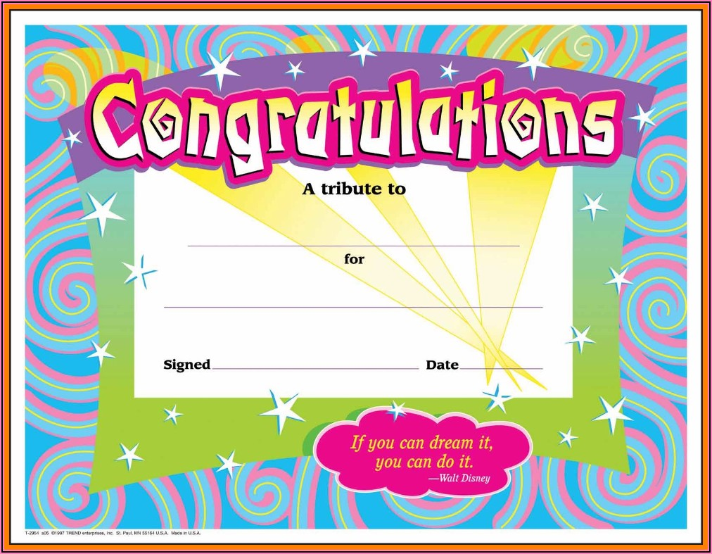 Fun Awards Certificates Templates