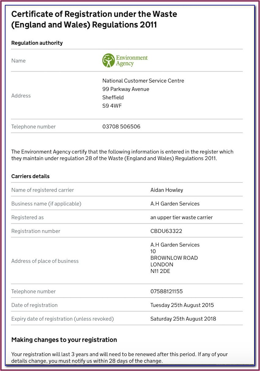 Gardening Services Contract Template