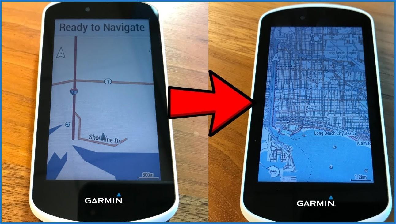 Garmin Explore Maps