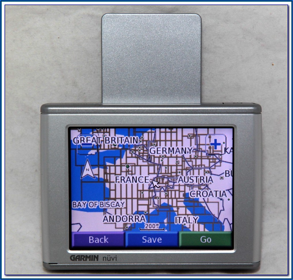 Garmin Nuvi 350 Map Update Hack