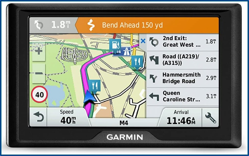 Garmin Sat Nav Map Updates