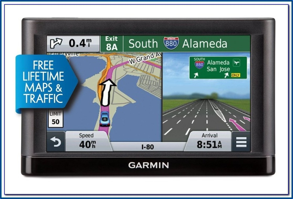 Garmin Sat Nav With Free Lifetime Map And Traffic Updates