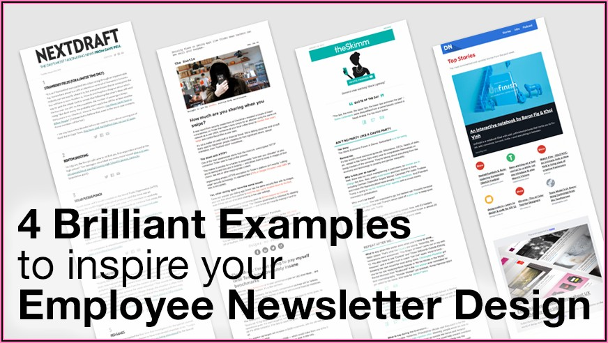 Hr Newsletter For Employees Template