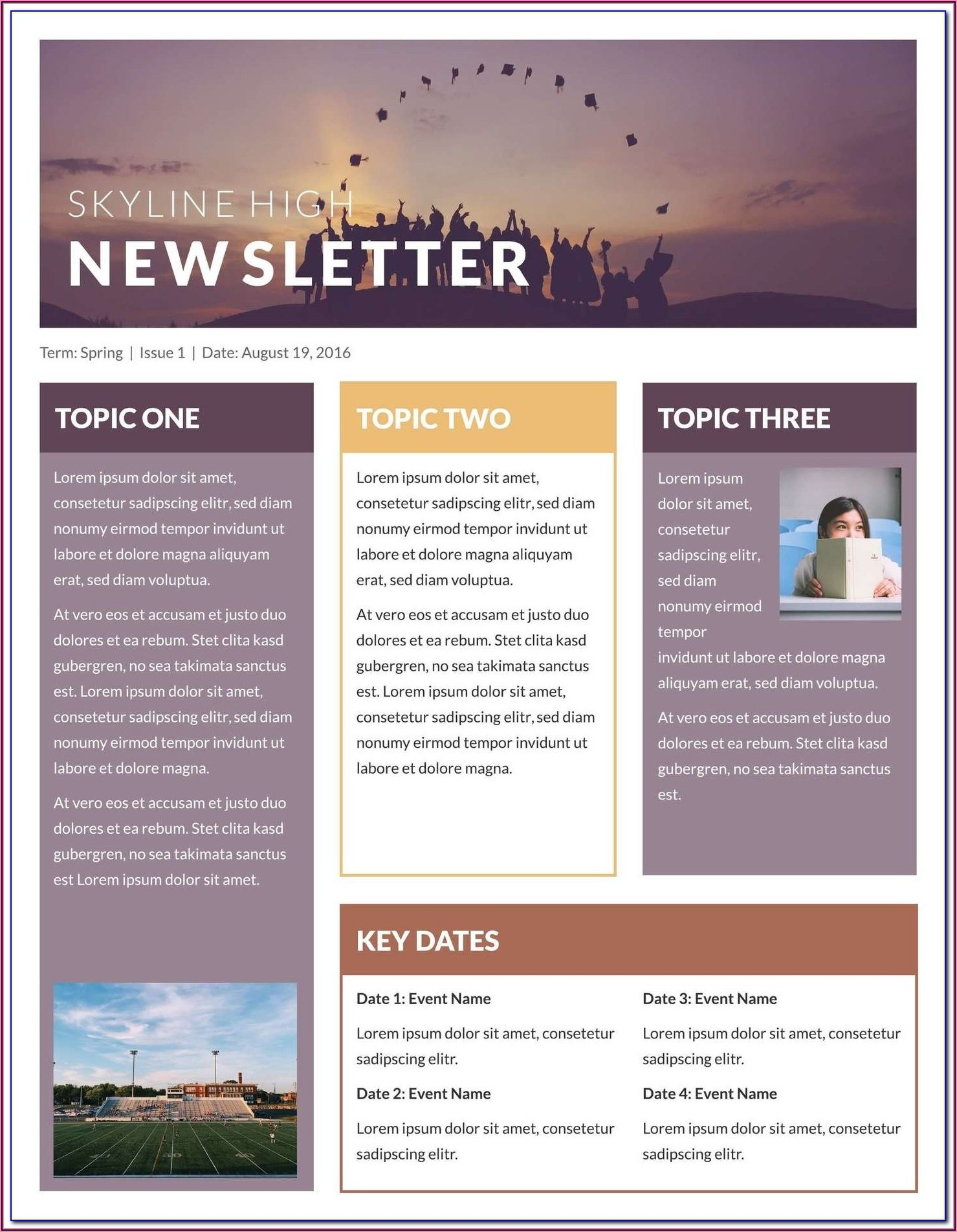 Hr Newsletter Format