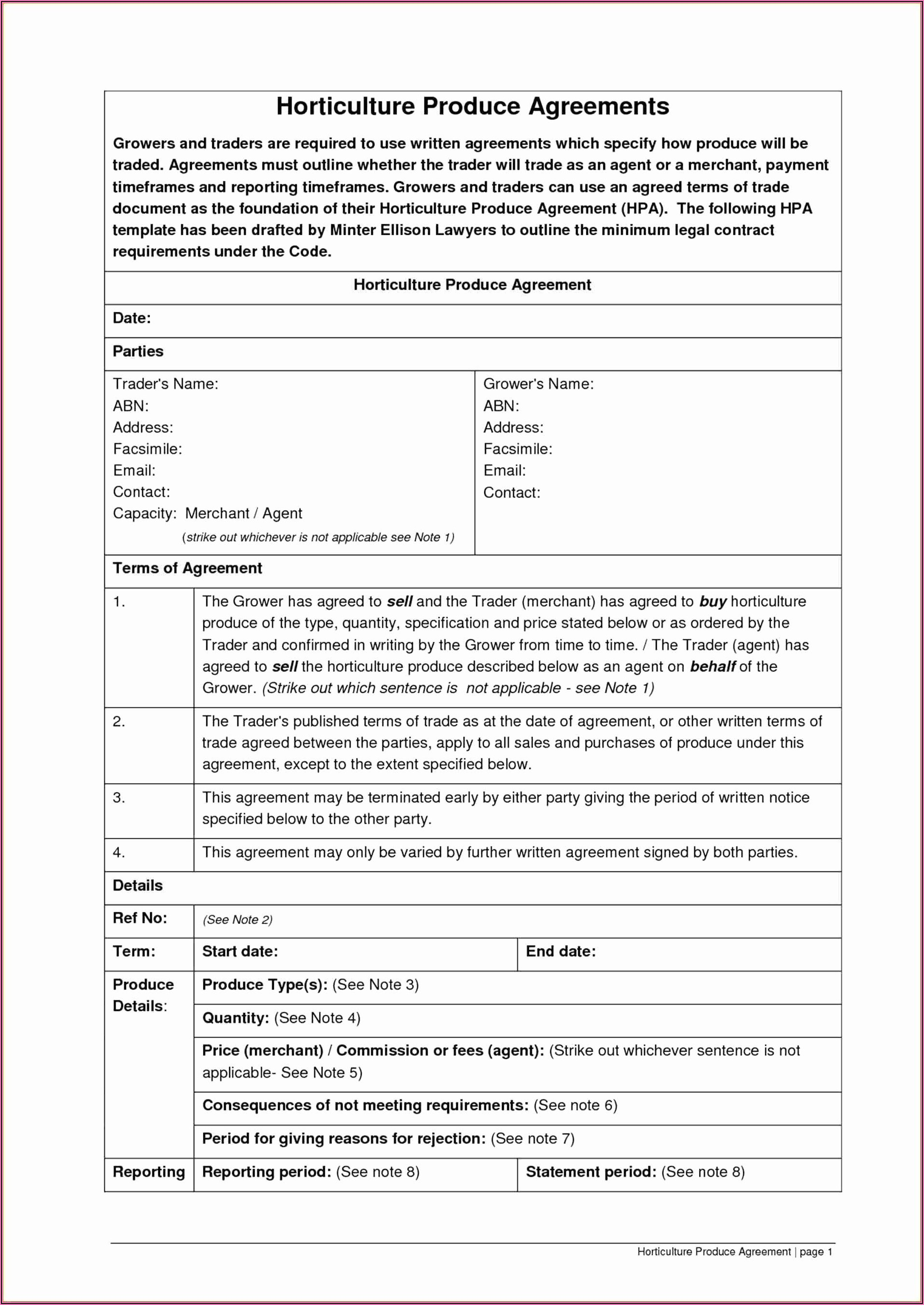 Independent Contractor Sales Commission Agreement Template