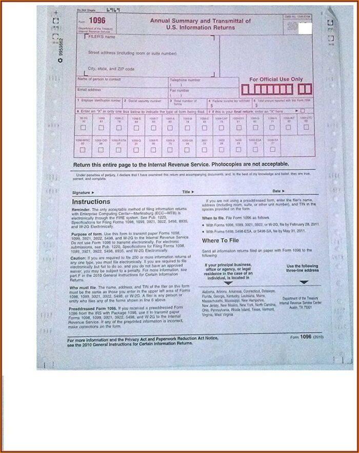 Irs Tax Form 1099s