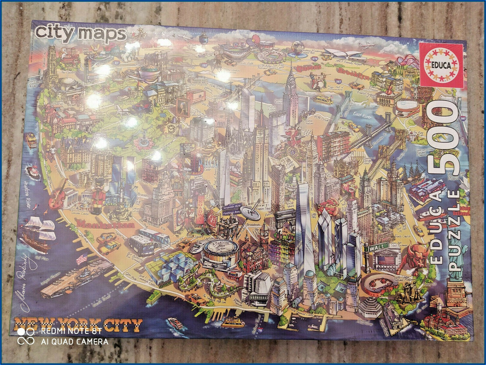 Jigsaw Puzzles City Maps
