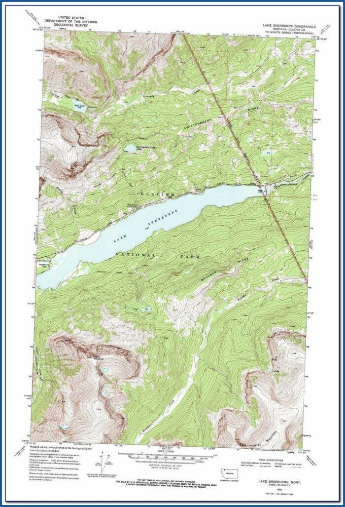 Lake Erie Western Basin Topo Map