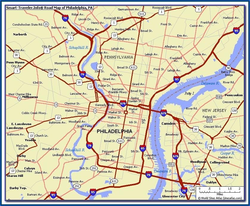 Map Of Philadelphia Street Parking