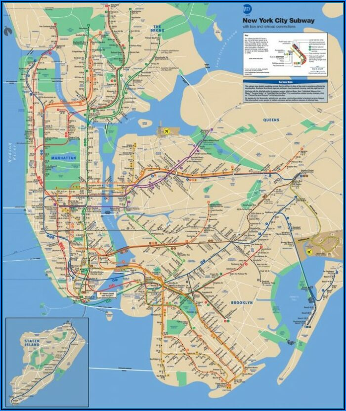 Metro North Map New York