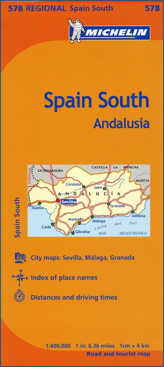 Michelin Map Spain