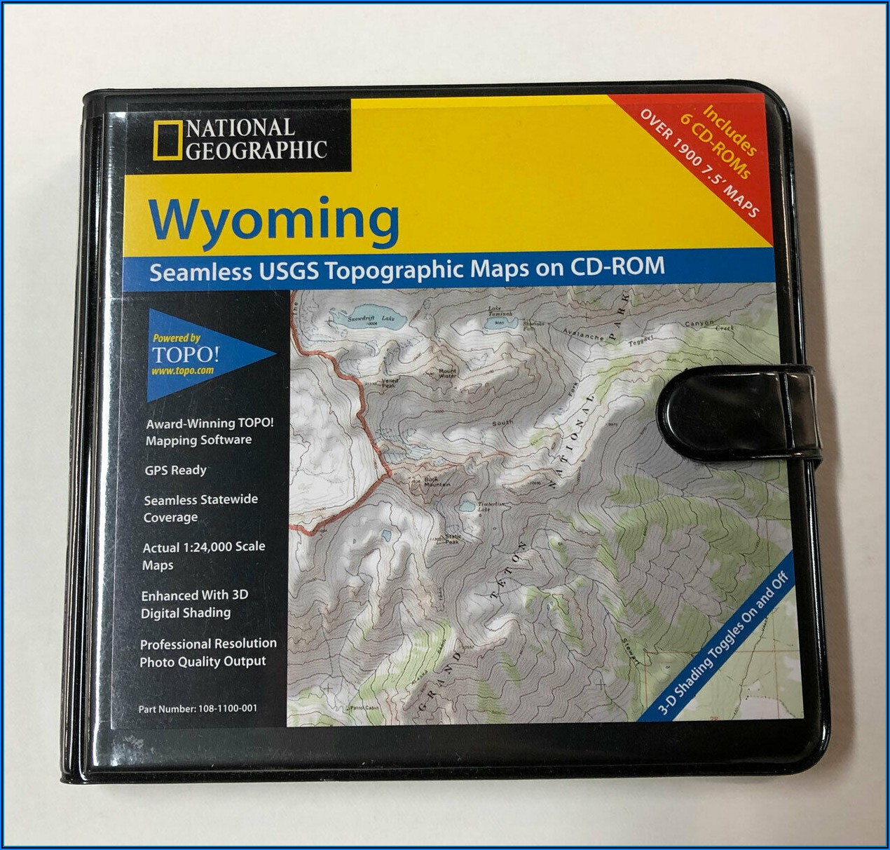 National Geographic Topo Map Software
