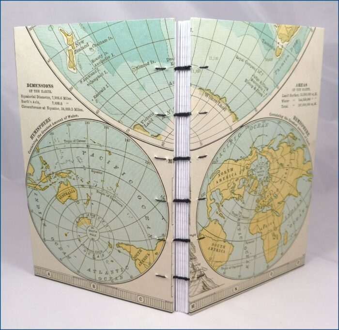 Old World Map Books