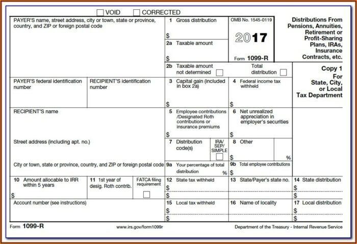 Sample Form 1099 Int