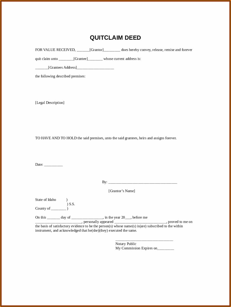 Short Form Warranty Deed New Mexico Statutory Form