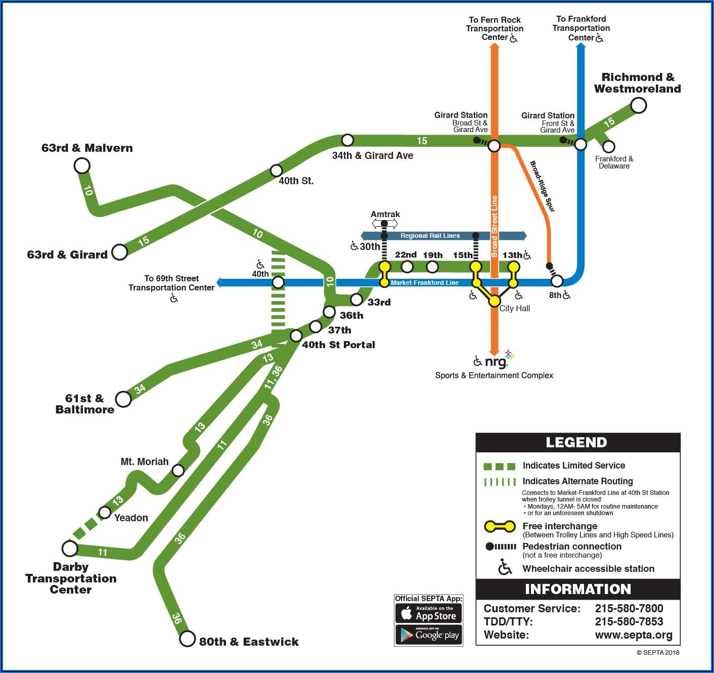 Street Map Of West Philadelphia Pa