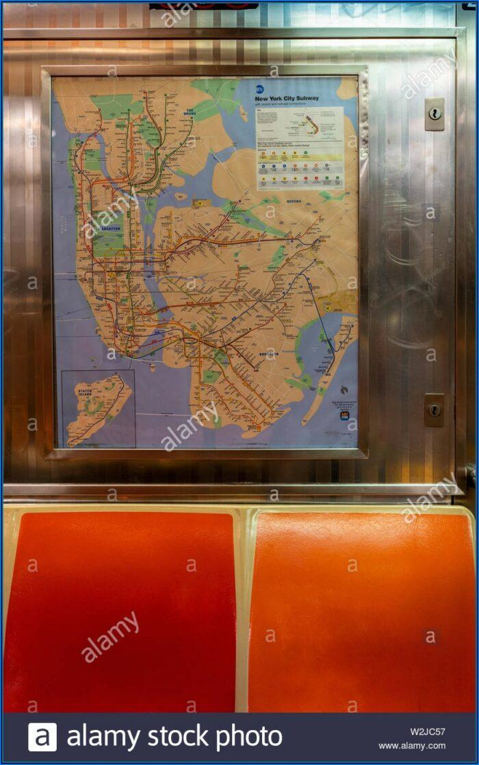 Subway Map New York 2019