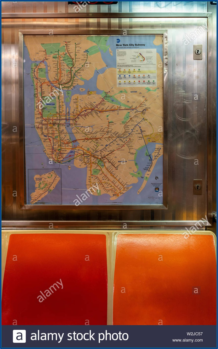 Subway Map New York 2019