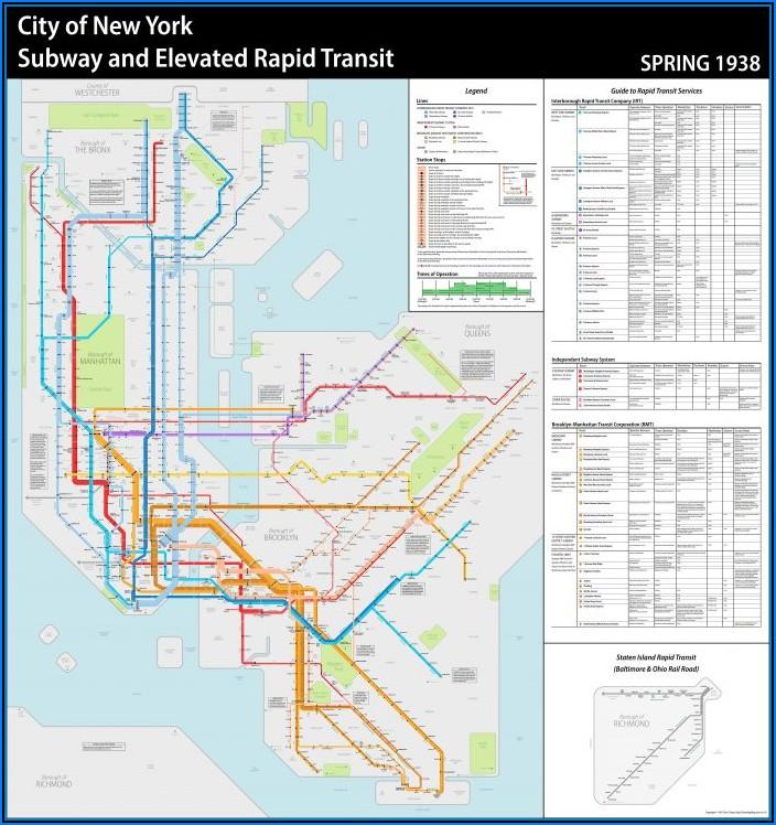 Subway Map New York App