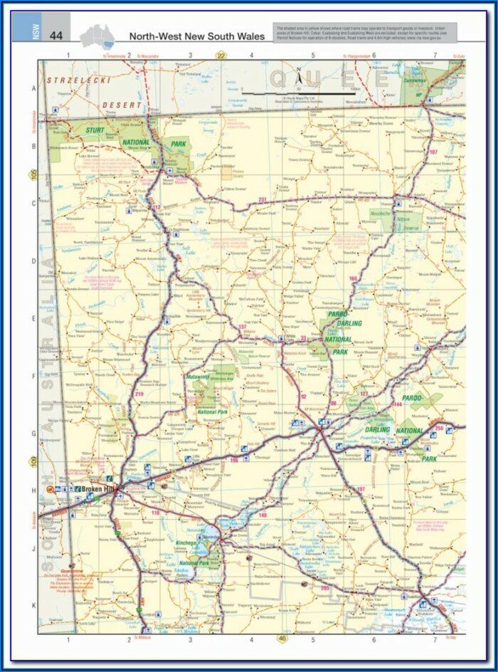 Truckers Road Map Uk