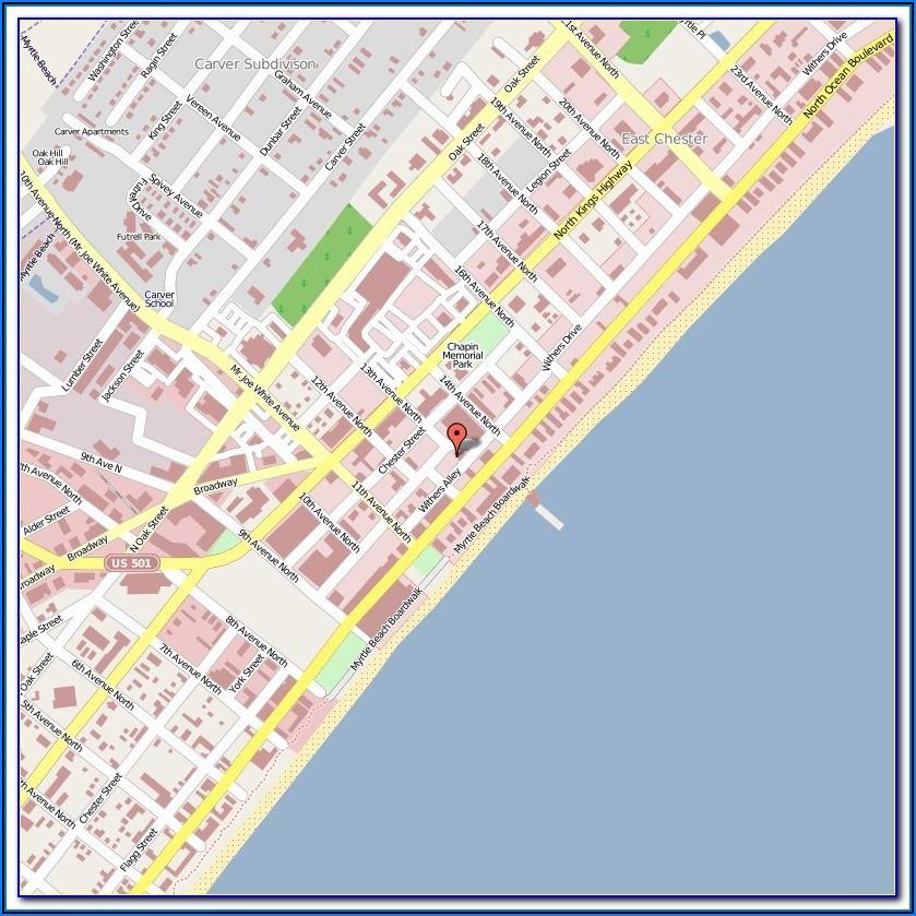 Whalehead Beach Nc Map