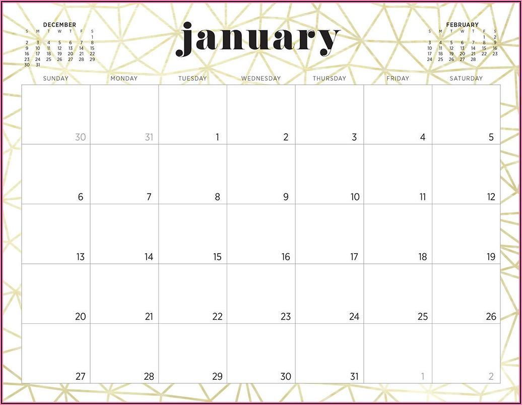 Work Calendars Templates