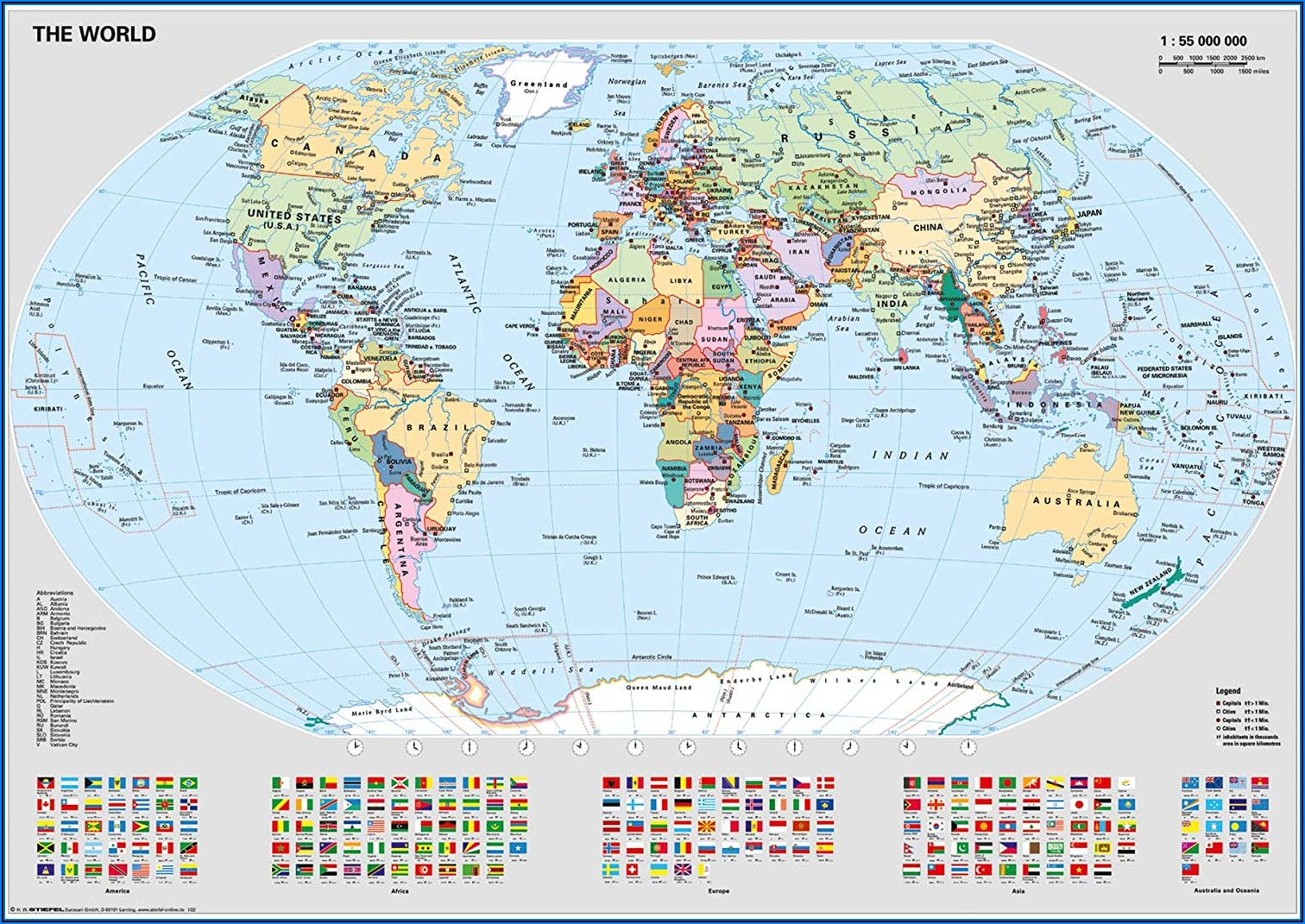 World Map Jigsaw Puzzle Amazon
