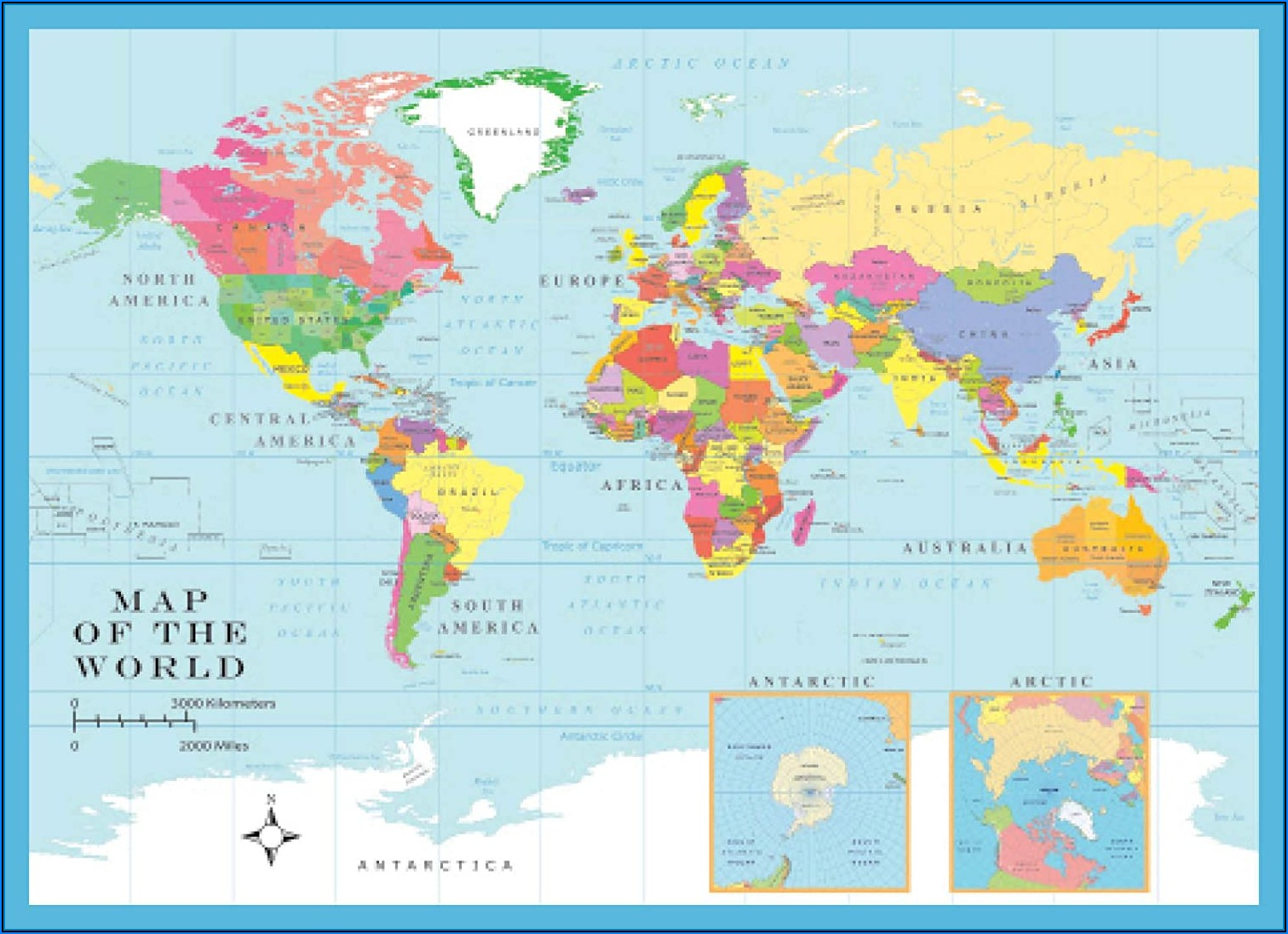 World Map Jigsaw Puzzle Online