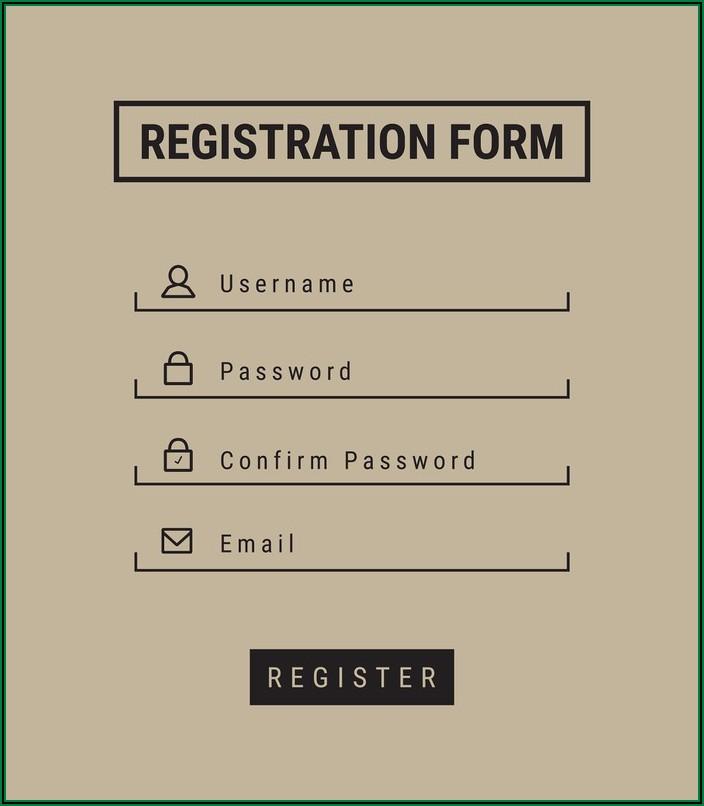 5k Registration Form Template