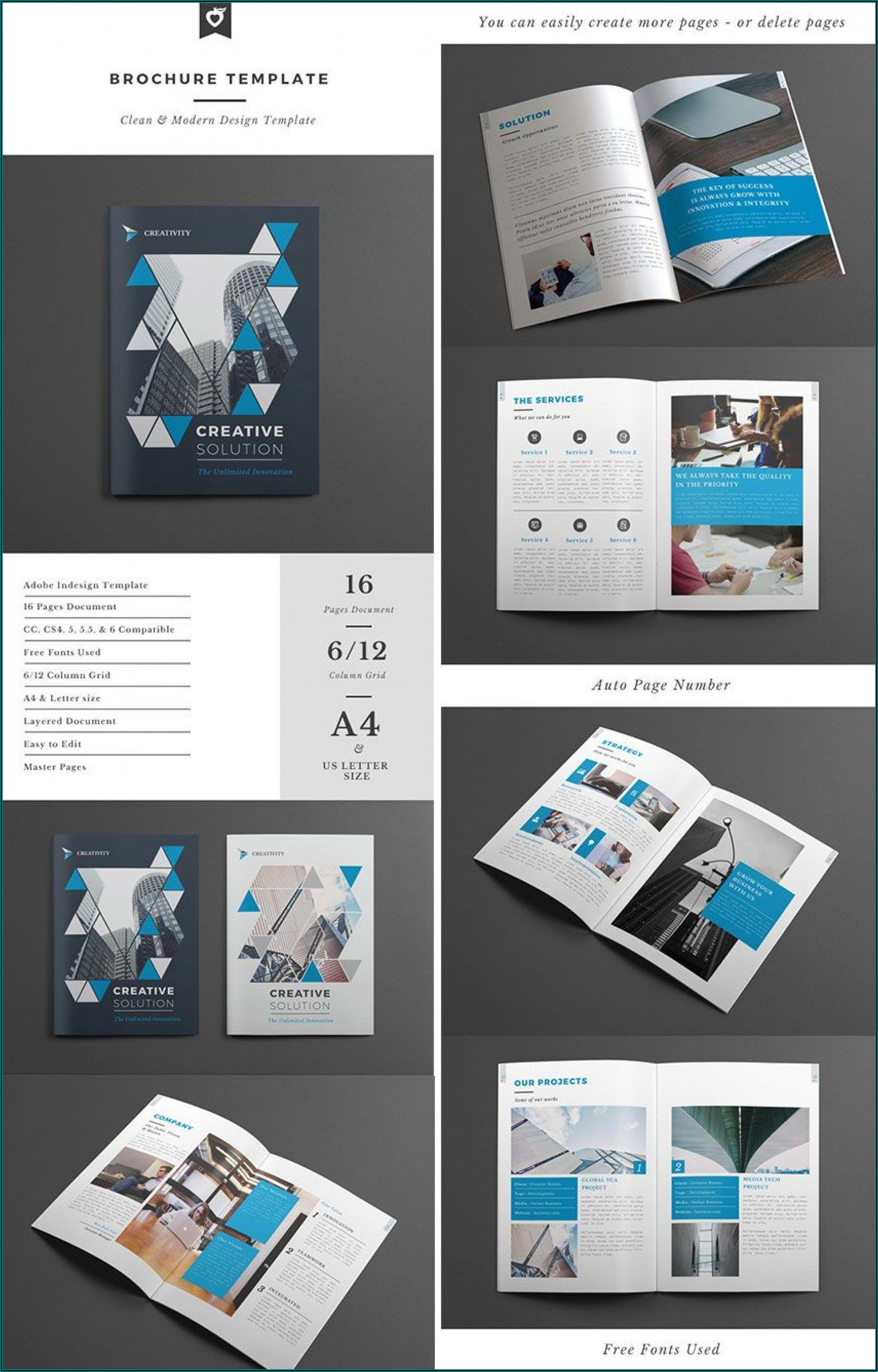 Adobe Indesign Brochure Template Free