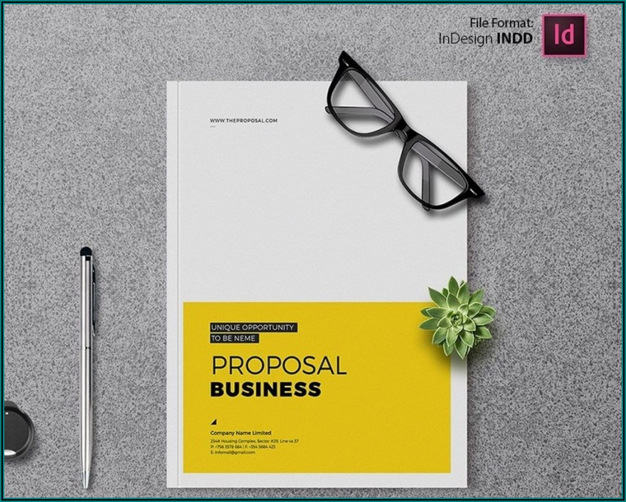 Adobe Indesign Brochure Template