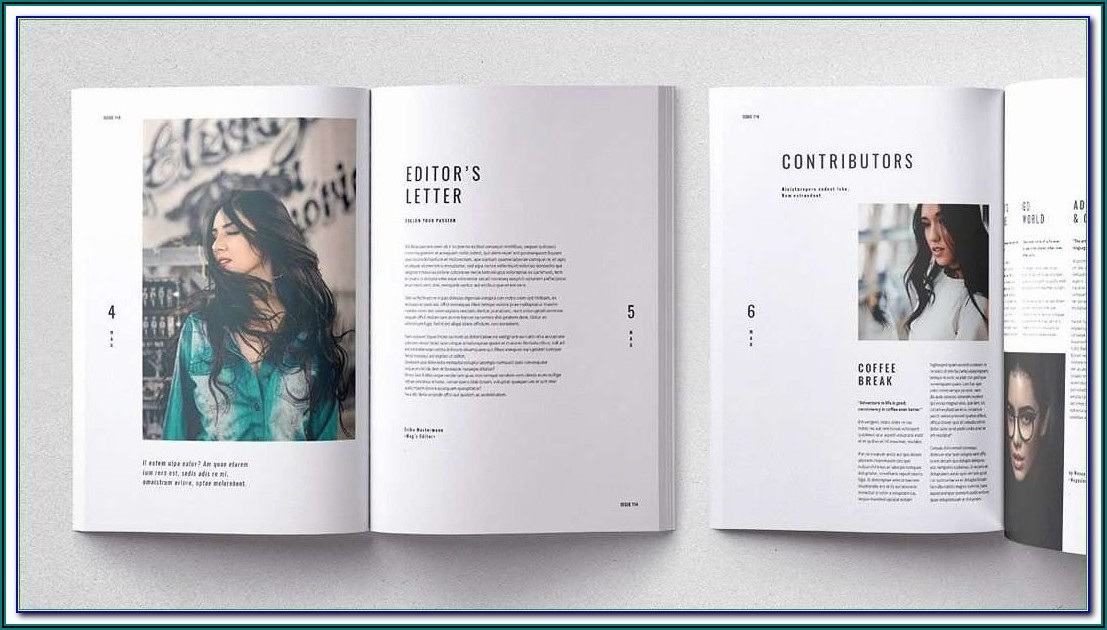 Adobe Indesign Brochure Templates Free
