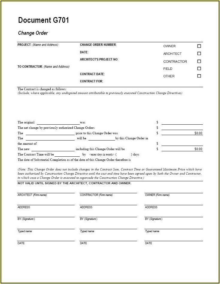 Aia Billing Form Free